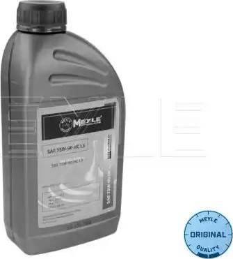 Meyle 0140192600 - Manual Transmission Oil www.parts5.com