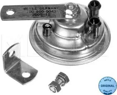 Meyle 1008000043 - Air Horn www.parts5.com