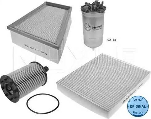 Meyle 1123300002S - Filter Set www.parts5.com