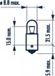 Narva 17131 - Bulb, door footwell light www.parts5.com