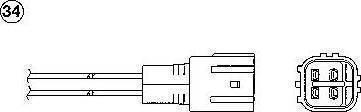 NGK 1416 - Lambda Sensor www.parts5.com