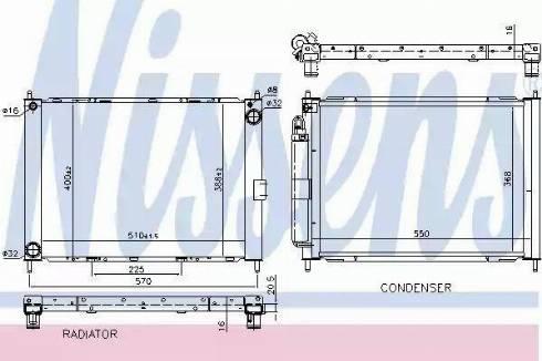 Nissens 68757 - Cooler Module www.parts5.com