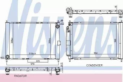 Nissens 637654 - Cooler Module www.parts5.com