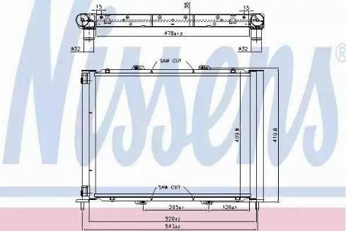 Nissens 637626 - Cooler Module www.parts5.com