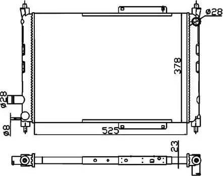 NRF 55326A - Cooler, drive battery www.parts5.com