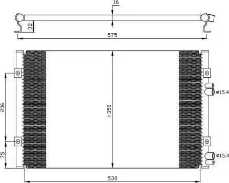 NRF 35384 - Condenser, air conditioning www.parts5.com