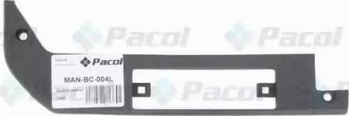 Pacol MANBC004L - Bumper Cover, towing device www.parts5.com