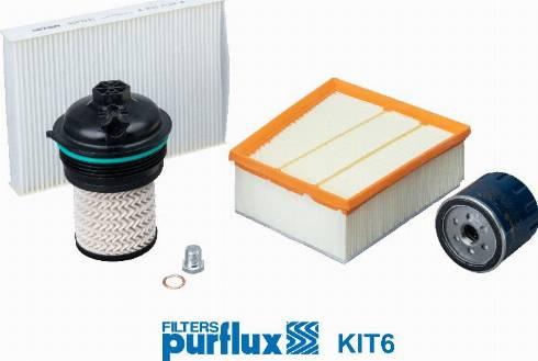 Purflux KIT6 - Filter Set www.parts5.com