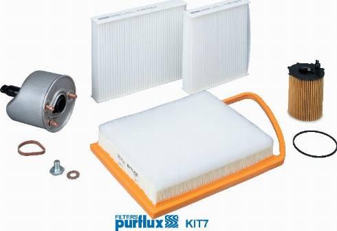 Purflux KIT7 - Filter Set www.parts5.com