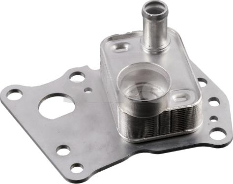 Swag 10103445 - Oil Cooler, manual transmission www.parts5.com