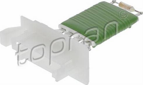 Topran 409696 - Resistor, interior blower www.parts5.com