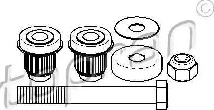 Topran 400088 - Repair Kit, reversing lever www.parts5.com