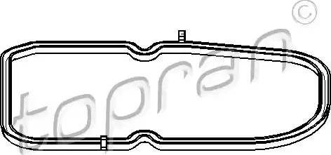Topran 400133 - Seal, automatic transmission oil pan www.parts5.com