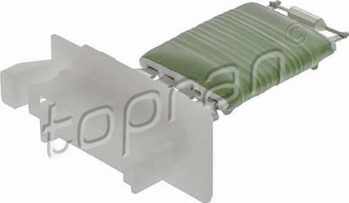 Topran 408498 - Resistor, interior blower www.parts5.com