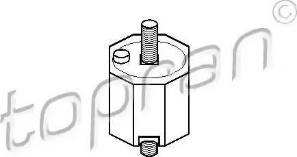 Topran 500006 - Mounting, manual transmission www.parts5.com