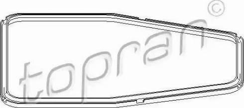 Topran 500781 - Seal, automatic transmission oil pan www.parts5.com
