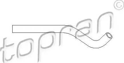 Topran 501556 - Hydraulic Hose, steering system www.parts5.com