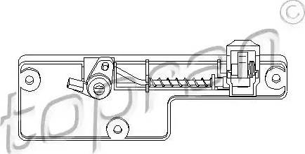 Topran 109078 - Glove Compartment Lock www.parts5.com