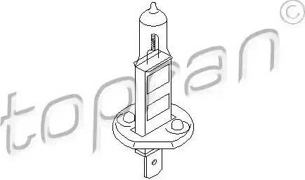 Topran 109100 - Bulb, spotlight www.parts5.com