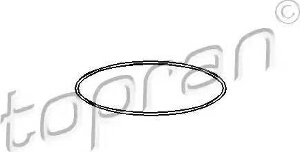 Topran 104525 - O-Ring, cylinder sleeve www.parts5.com