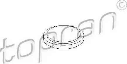 Topran 100084 - Flange Lid, manual transmission www.parts5.com
