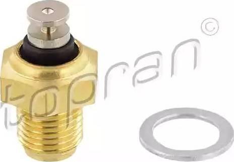 Topran 100854 - Sensor, oil temperature www.parts5.com