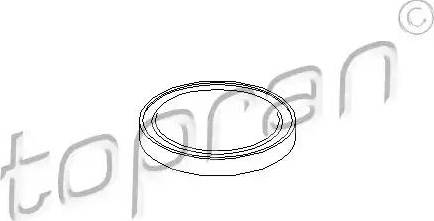 Topran 108618 - Flange Lid, manual transmission www.parts5.com