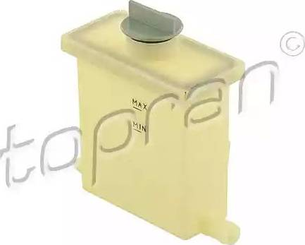 Topran 108687 - Expansion Tank, power steering hydraulic oil www.parts5.com