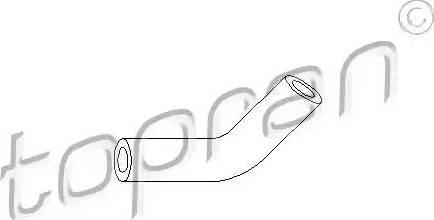 Topran 103405 - Vacuum Hose, brake system www.parts5.com