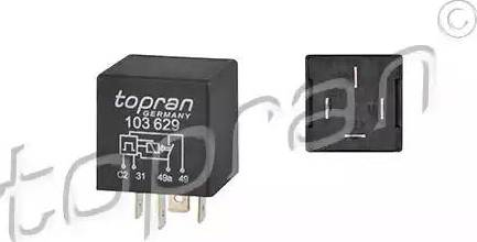 Topran 103629 - Hazard Lights Relay www.parts5.com