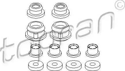 Topran 102649 - Repair Kit, gear lever www.parts5.com