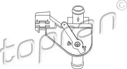 Topran 102654 - Control Valve, coolant www.parts5.com