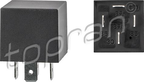 Topran 107731 - Relay, air conditioning www.parts5.com