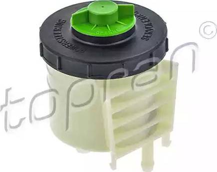Topran 110978 - Expansion Tank, power steering hydraulic oil www.parts5.com
