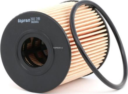 Topran 302 318 - Oil Filter www.parts5.com