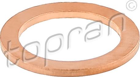 Topran 209133 - Gasket, charger www.parts5.com