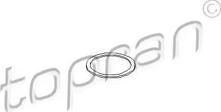 Topran 206580 - Seal Ring, injector www.parts5.com