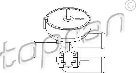 Topran 206241 - Control Valve, coolant www.parts5.com
