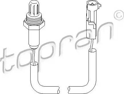 Topran 201 758 - Lambda Sensor www.parts5.com