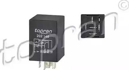 Topran 202146 - Relay, wipe-/wash interval www.parts5.com