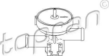 Topran 207465 - Control Valve, coolant www.parts5.com