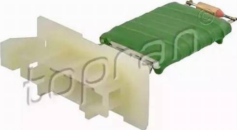 Topran 701671 - Resistor, interior blower www.parts5.com
