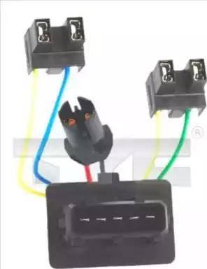 TYC 200271WA1 - Harness, headlight www.parts5.com