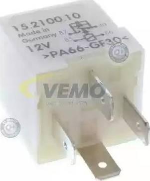 Vemo V15710010 - Relay, radiator fan castor www.parts5.com