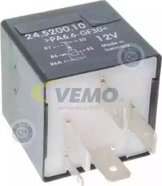 Vemo V15710017 - Relay, radiator fan castor www.parts5.com