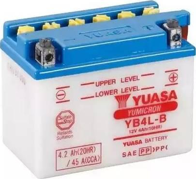 Yuasa YB4LB - Starter battery www.parts5.com